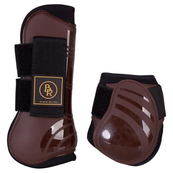 BR Set of tendon riding boot straps and fetlock riding boot straps Pro Tech