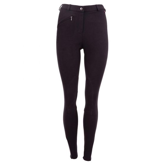 Premiere Riding breeches Dahlia II ladies fabric knee patches