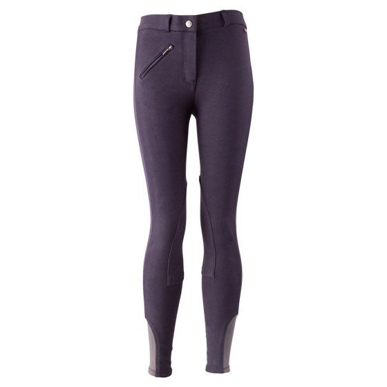 Premiere Riding breeches Tulip II children fabric knee patches