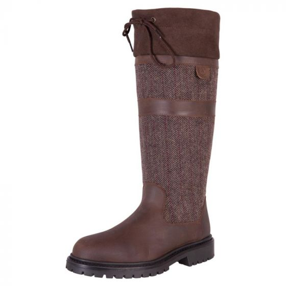 BR Country twill outdoor riding boot straps