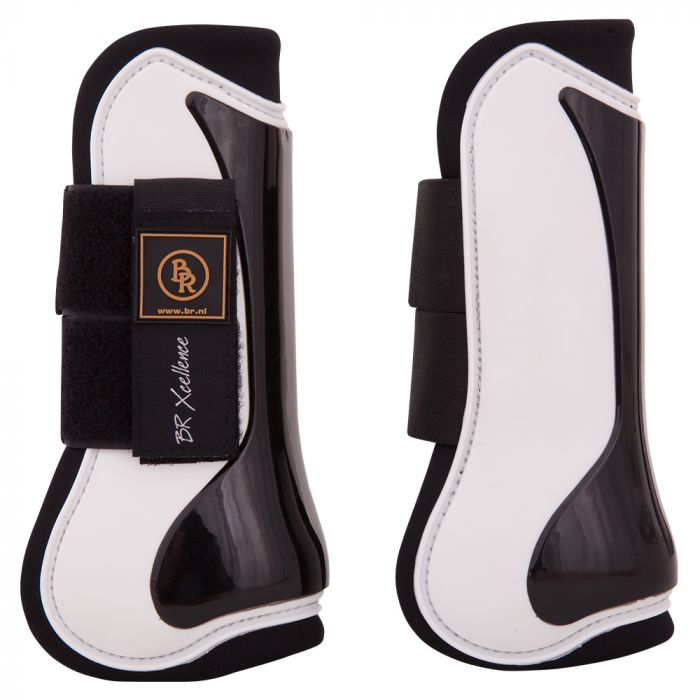 Pony Horse Riding PU Neoprene Lined Brushing Tendon Protection Boots Wrap