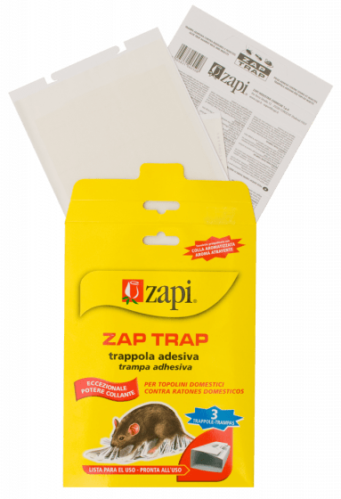 Zapi Zap Trap Glue for mice & insects 15x21cm