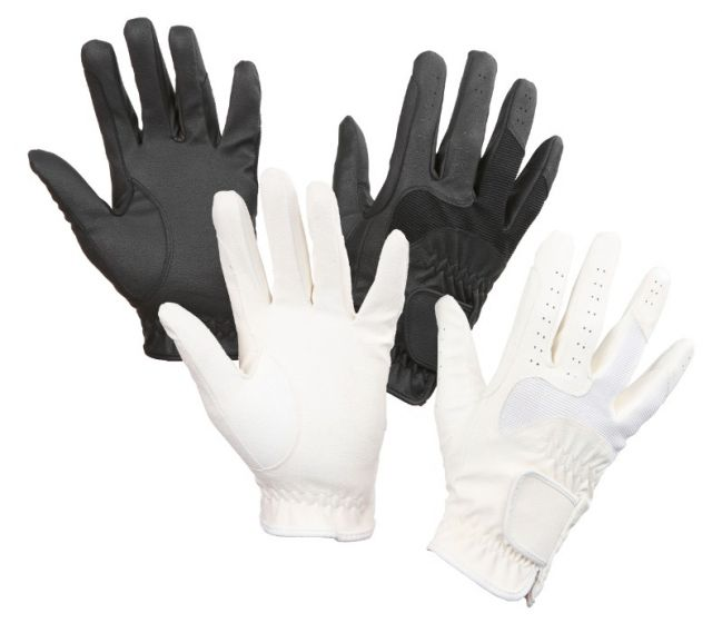 Hofman Riding Glove Gloria White XS