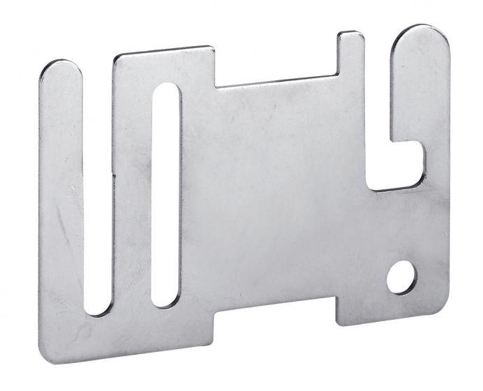 Hofman Ribbon fence start / endplate stainless steel