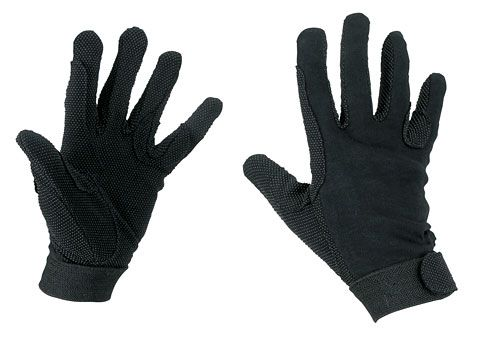 Hofman Riding Gloves Cotton Black M