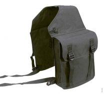 Double sheepskin saddle pad bags