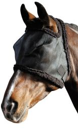 Harry's Horse Fly mask with fur binding