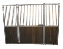 Galvanized horse stable for Shetland pony or mini horse.