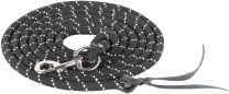 Harry's Horse Leadhead-head-rope 4m snap hook zwart
