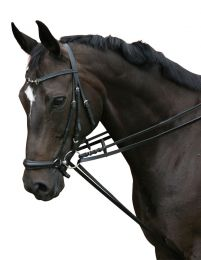 PFIFF Leather draw reins Full