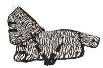 Harrys Horse Fly Rug Zebra