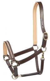 PFIFF leather headcollar 'Castania'