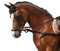 Synthetic side-reins