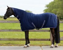 QHP Basic fleece rug, with neck & webbing