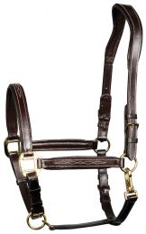 Harry's Horse Head collar leather, bridoonded, Supreme