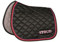 Harrys Horse Saddle pad Stout Black Shet