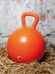 Harry's Horse Play ball for horses oranje