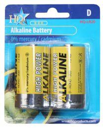 Hofman Battery-set Alkaline size: D PestGarden