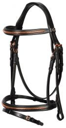Harry's Horse Bridle Rosegold Classic