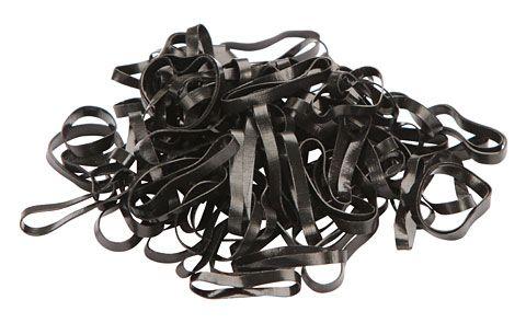 Hofman Rubber bands Silicone black