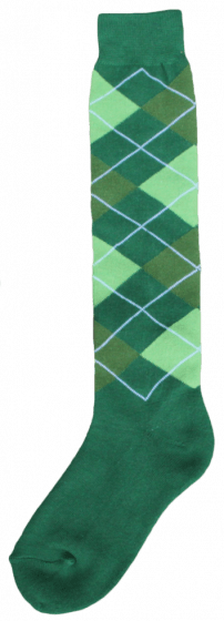 Excellent Knee socks RE d.green / l.green / green 43-46