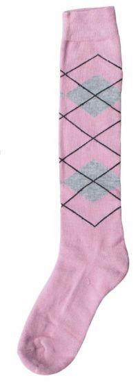 Hofman Knee Socks RE 35/38 Pink/Silver