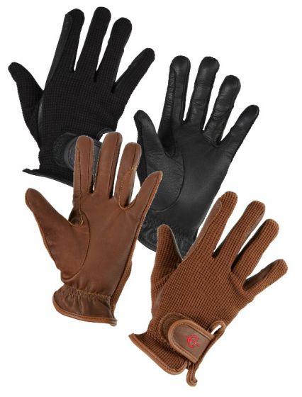 Hofman Riding Gloves Zico Brown XL