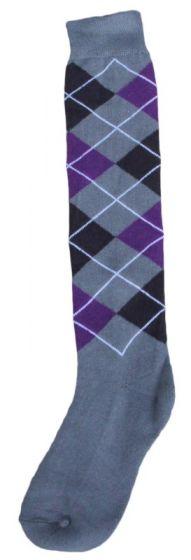 Hofman Knee Socks RE 39/42 Purple/Silver
