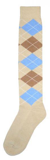 Hofman Knee Socks RE 35/38 Blue/Brown