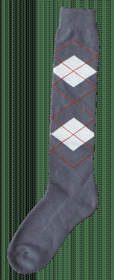 Excellent Knee socks RE gray / beige 43-46