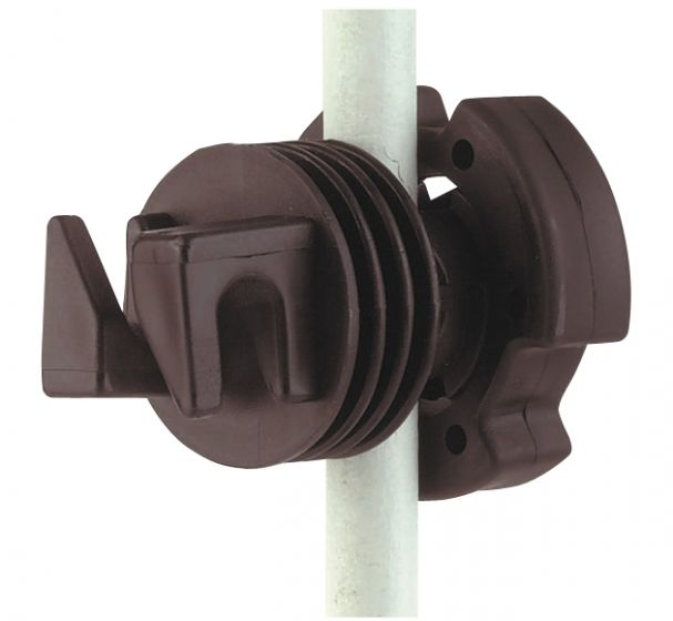 Hofman Insulator Screw for round post up to 12 mm