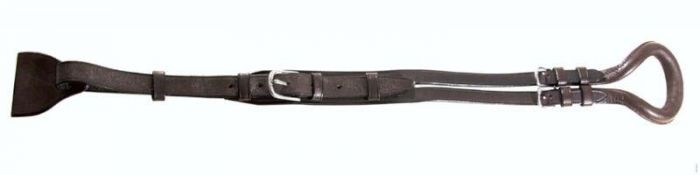 PFIFF Saddle tail strap made of leather