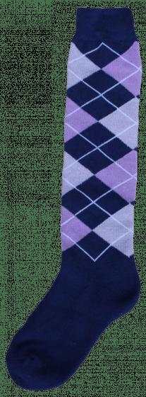 Excellent Knee socks RE d.blue / lilac / gray 43-46