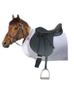PFIFF Complete sheepskin saddle pad set