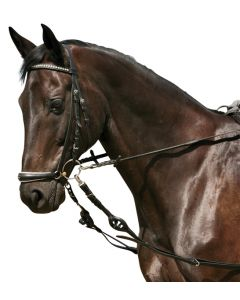 PFIFF Side-reins, leather