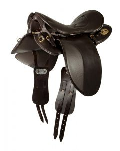 PFIFF Trekking sheepskin sheepskin saddle pad bridoon 'Trooper'