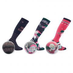 Box with socks Discoball, 30 pair in stable Assorted 1 SIZE