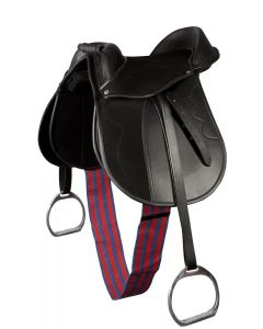 PFIFF Pony sheepskin sheepskin saddle pad bridoon set
