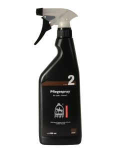 Care spray for leather