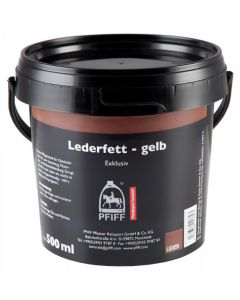 PFIFF leather grease - yellow
