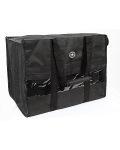 PFIFF Bag for bandages and tendon riding boot straps Black