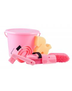 PFIFF cleaning set in a lockable bucket