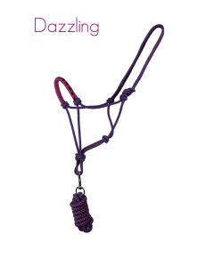 QHP Rope halter set