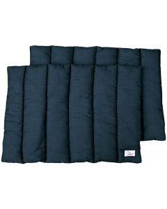 Harry's Horse Leg Wraps, black 4 pcs 50x65cm zwart