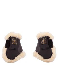 BR Fetlock riding boot straps Snuggle imitation sheepskin
