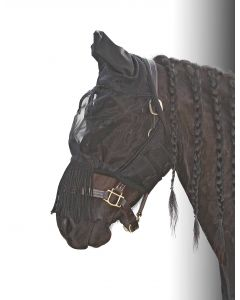 Harry's Horse Fly mask Flyshield fringes