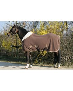 Harry's Horse Teddy fleece blanket 1/2 neck