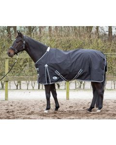Harry's Horse Thor rug black, fleece lining