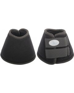 Harry's Horse Neoprene bell riding boot straps brushed black