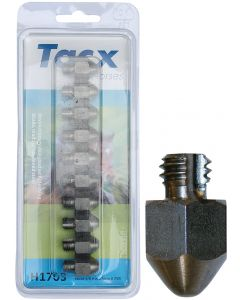 Harry's Horse Tacx studs 10pcs. 3/8 17mm pointed aantal